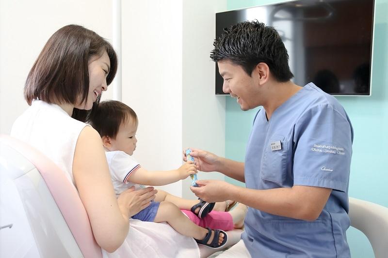 子供の治療風景
